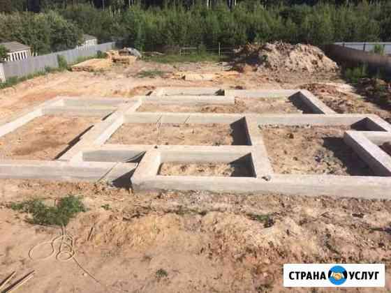 Фундаменты, монолит, заборы Йошкар-Ола