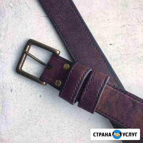 Пошив изделий из кожи ручной работы Екатеринбург