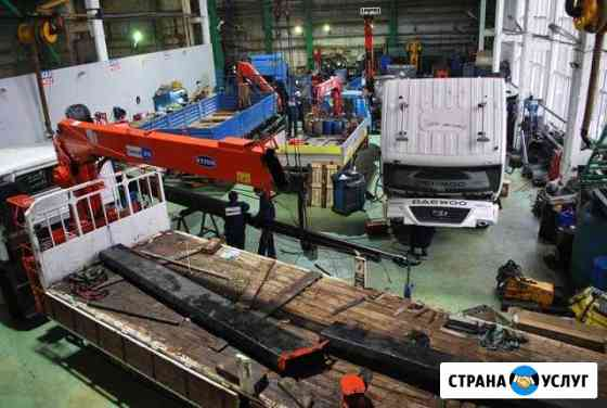 Квалиф ремонт автокранов и кран-манипуляторов Йошкар-Ола