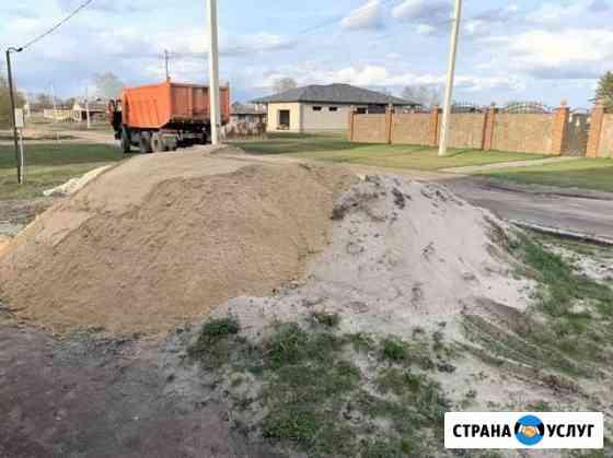 Доставка песка Липецк