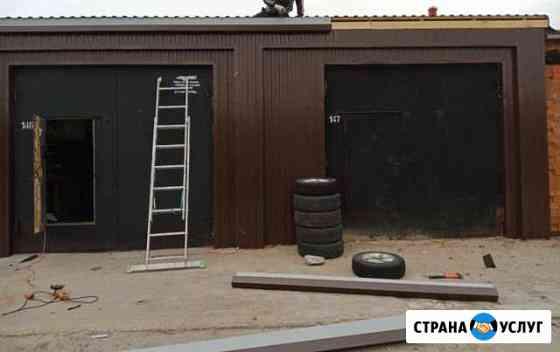 Ремонт гаражей Новый Уренгой