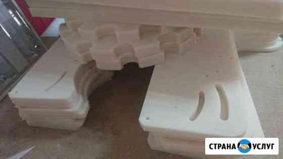 Изготовление деталей из капролона, пп и т.д Нижний Новгород