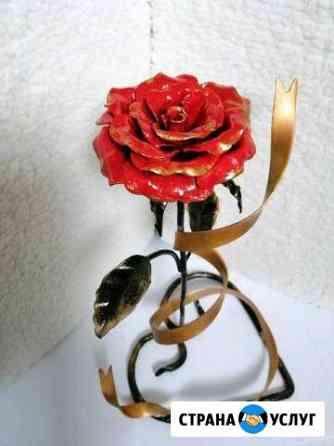Роза (ковка из металла) Саранск