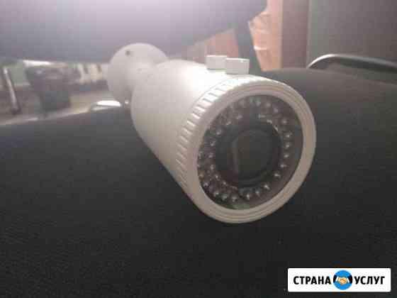 Установка видеонаблюдения Новосибирск