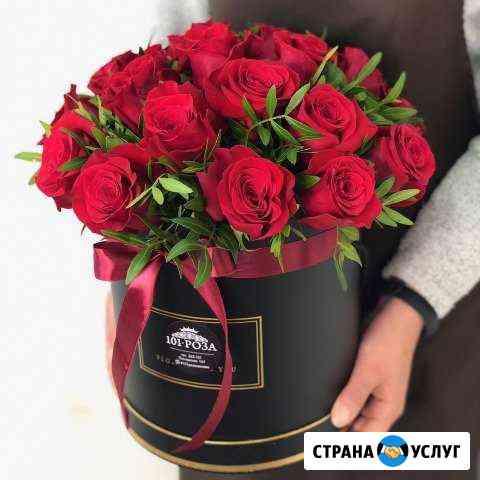 Шляпные коробки с цветами Иваново