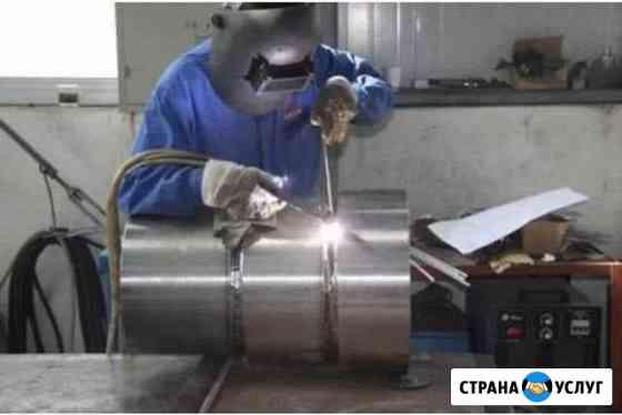 Сварка аргоном, напыление металла Кузнецк