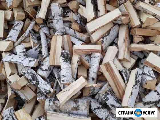 Услуги лесозаготовок: дрова колотые, лес кругляк Уфа