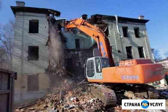 Демонтаж дамов Кострома