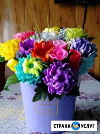 Букеты цветов из мыло Киреевск