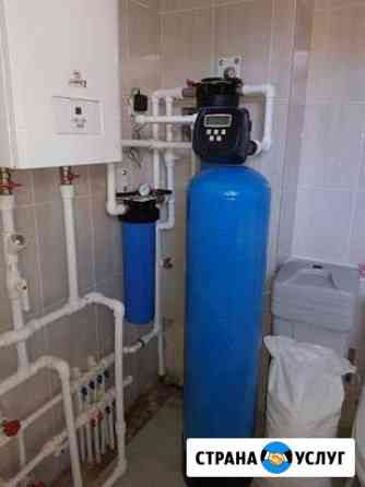Сервисное обслуживание систем водоочистки, ремонт Самара