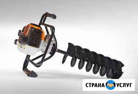 Бурение лунок/ямок/ мотобур Богородск