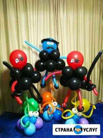 Воздушные шары с гелием Аренда свадебной ширмы ) Новоуральск