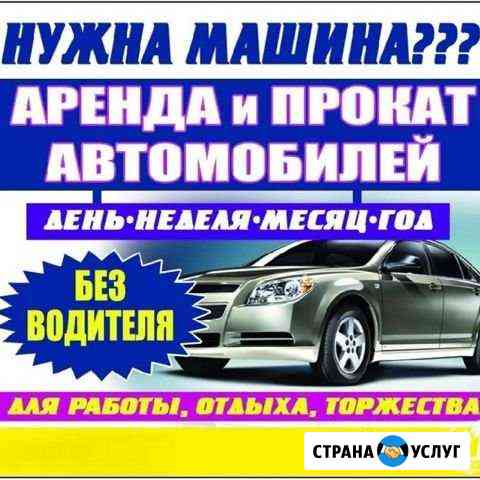 Аренда/прокат/ автомобилей в Майкопе Майкоп