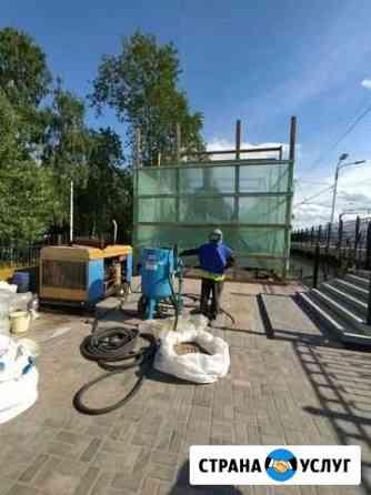 Пескоструйная обработка и очистка любых поверхност Петрозаводск