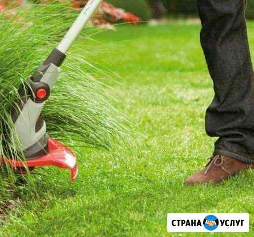 Покос травы Чегем