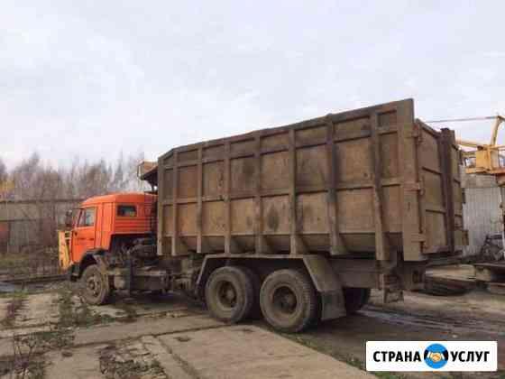 Вывоз мусора(хапугой),аренда Ломовоза Казань