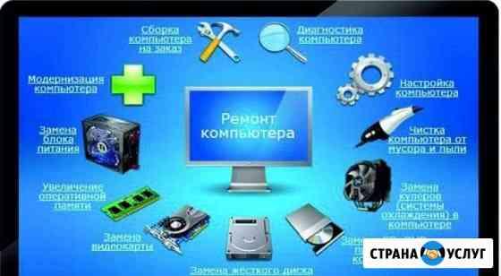 Ремонт, апгрейд, сборка компьютеров Мурманск