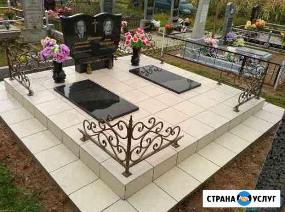 Благоустройства захоронения под ключ Новокузнецк