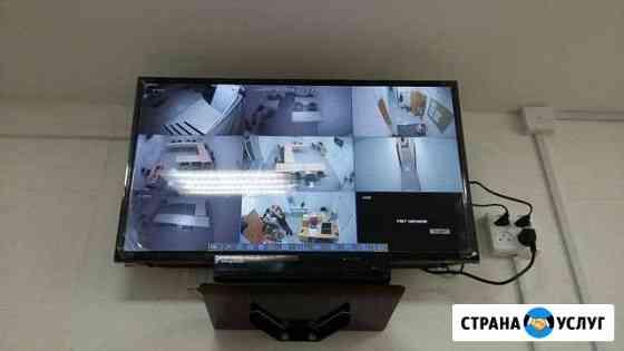 Видеонаблюдение на 4 камеры Уфа