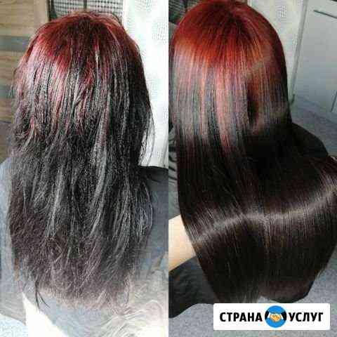 Кератиновое выпрямление волос Калуга