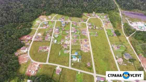 Съемки с воздуха на дроне Октябрьский