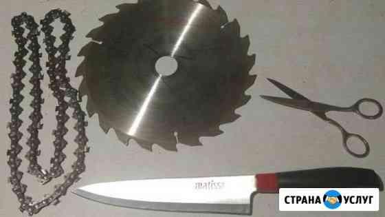 Заточка пильных цепей,дисков Волгоград