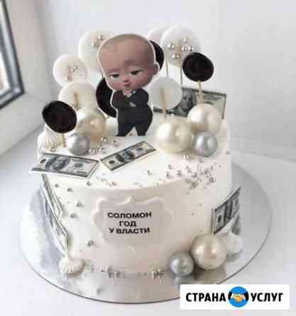 Торты на заказ. Свадебные, Детские торты, на выпус Казань