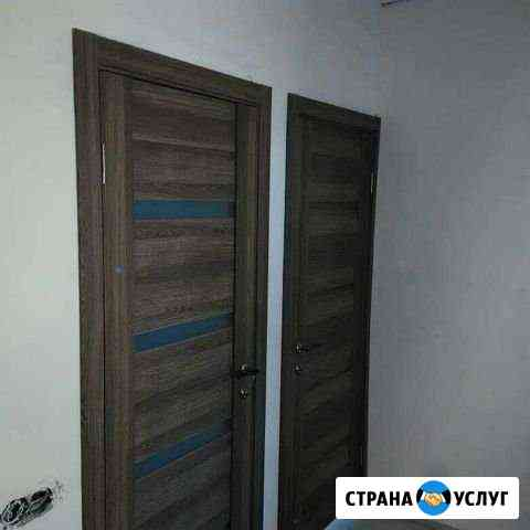 Установка межкомнатных дверей Кострома