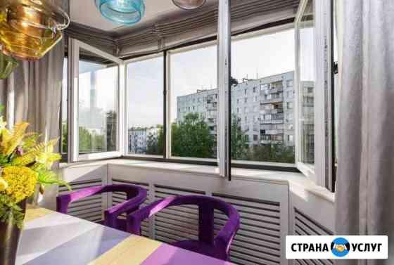 Остекление и отделка балконов Абакан