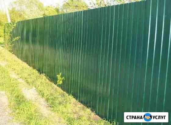 Навес, забор, калитки, ограды, мангалы, беседки Уфа