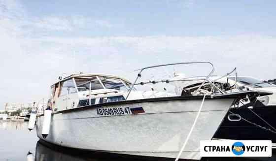 Аренда катера, яхты Санкт-Петербург