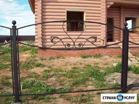 Кованый забор от производителя Йошкар-Ола
