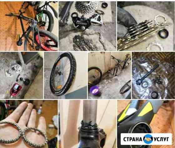 Ремонт велосипедов спб Санкт-Петербург