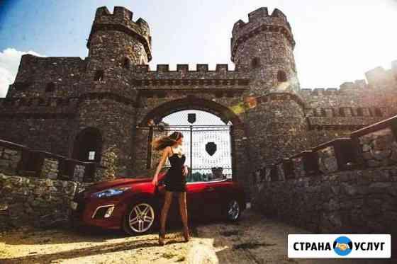Фотосессия, прокат красного кабриолета Ростов-на-Дону