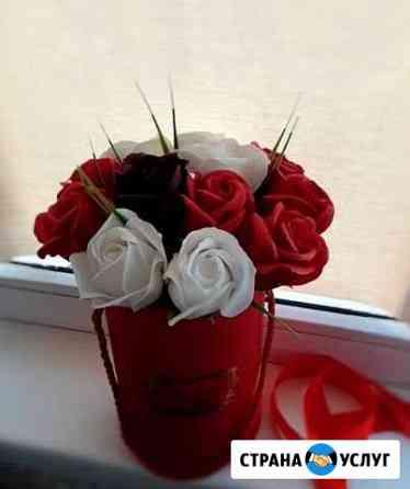 Букет из мыльных роз Астрахань