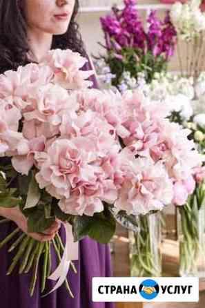 Доставка цветов. Французские розы Санкт-Петербург