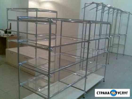 Монтаж и демонтаж торгового оборудования Пермь