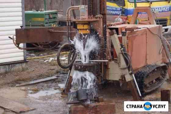 Ремонт скважины, прочистка, продувка компрессором Псков