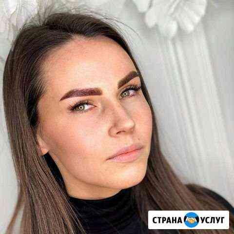 Татуаж, перманентный макияж, напыление Калининград