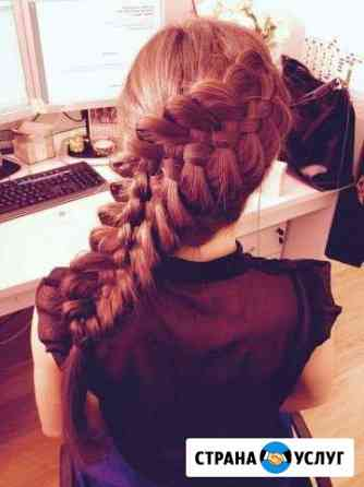 Плетение кос детских, взрослых, прически Ярославль