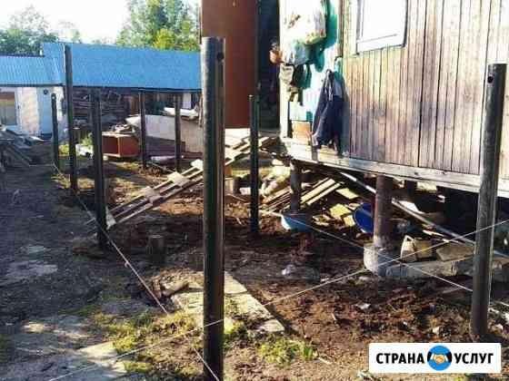 Фундамент на винтовых сваях качество Киров