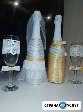 Свадебное шампанское и бокалы Екатеринбург