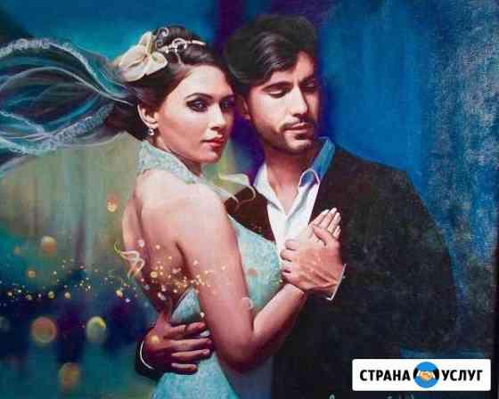Портреты по фото подарок онлайн доставка на дом Муравленко