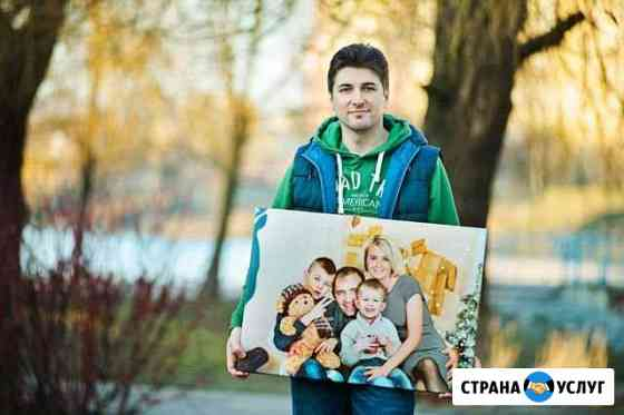 Картина на холсте с фотографии Рославль