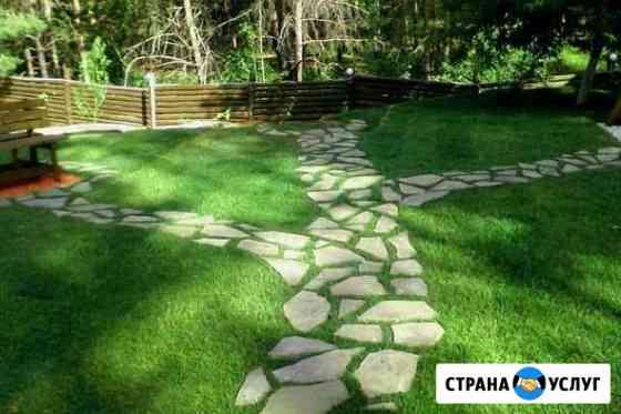 Ландшафтный дизайн и озеленение Ульяновск