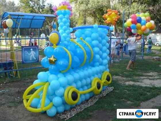 Оформление воздушными шарами Оренбург