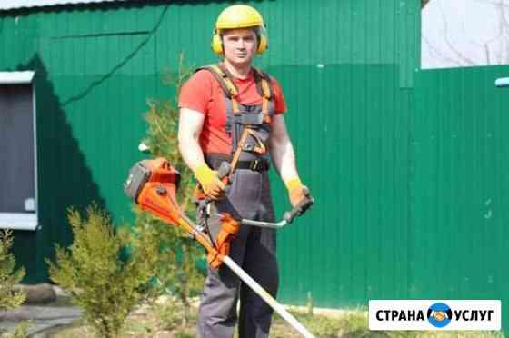 Покос травы любой сложности Воронеж