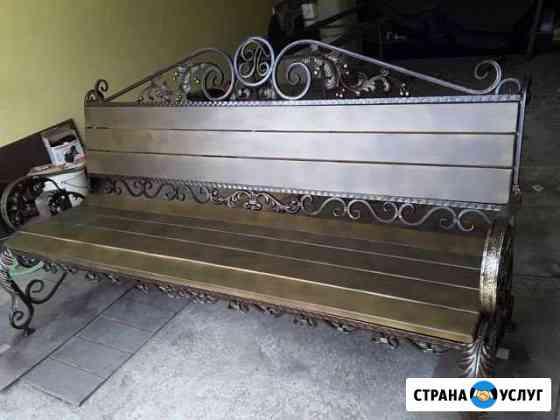 Изготовление скамеек под заказ Смоленск