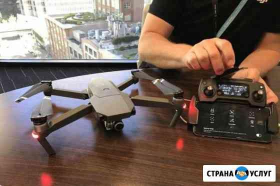 Обучение полетам на квадрокоптере DJI Школа пилота Казань