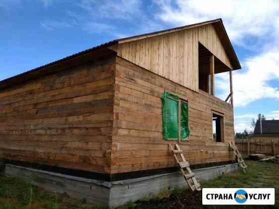 Строительство домов бань гаражей Улан-Удэ